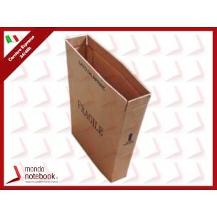 SCATOLA NEUTRA PER DOPPIO IMBALLO NOTEBOOK MISURA LPH 93x393x538 mm