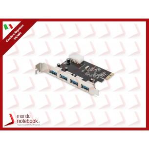 SCHEDA AGGIUNTIVA DIGITUS PCI-EXPRESS 4 PORTE USB 3.0