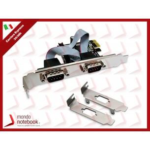 SCHEDA ATLANTIS P007-CPEO2S PCI-Express COMBO 2 SERIALE + 1 low profile per aggiungere...