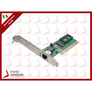 SCHEDA DI RETE DIGITUS PCI 1P 10/100 RJ45 8POLI FUNZIONE WOL (WAKE ON LAN)