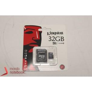 Micro SD Kingston 32 GB con adattatore CLASSE 10