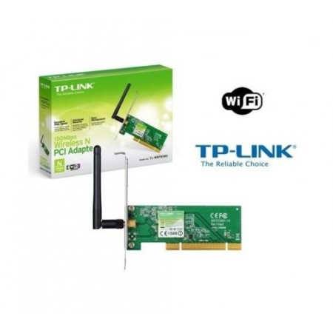 SCHEDA DI RETE Wireless TP-LINK Wi/Fi WLan N 150Mbps PCI 150 Mbps TL-WN751ND