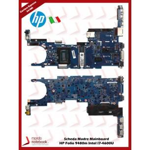 Scheda Madre Mainboard HP Folio 9480m Intel I7-4600U (TESTATA)