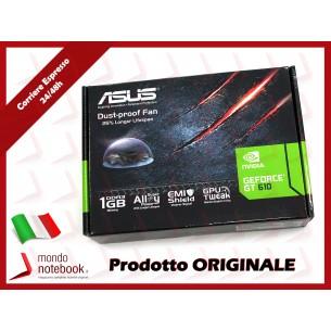 SCHEDA VIDEO SVGA ASUS NVIDIA GT610 1GD3 L 1GB DDR3 64bit DVI+HDMI PCI-E 2.0