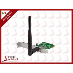 SCHEDA WIRELESS ASUS PCE-N10 PCI-Express 150M 802.11n, Antenna da 3dBi Funzionalità AP