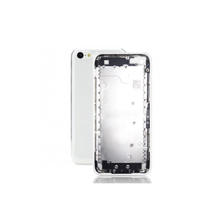 Scocca cover iPhone 5C completa di tasti - Complete back cover with parts - BIANCA