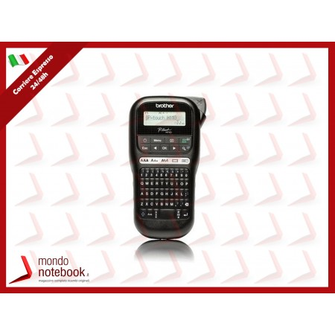 STAMPANTE BROTHER PT-H110 X ETICHETTE fino a 12mm Alimentazione opzionale: Adattatore...