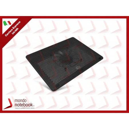 "SUPPORTO x NB COOLER MASTER fino a 17"" MNW-SWTS-14FN-R1 Notepal L2 1Fan160x15mm..."