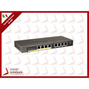 SWITCH NETGEAR GS108PE-300EUS 8P 10/100/1000M Web management, servizio Poe sulle prima...