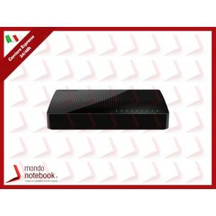 SWITCH TENDA SG108 8P LAN GIGABIT DESKTOP 10/100/1000Mbps RJ45 CASE PLASTICA