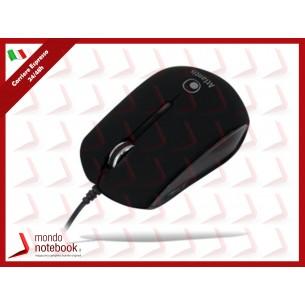 MINI MOUSE ATLANTIS P009-KM23-BS SCROLL USB 3 tasti 800-1000 dpi Nero