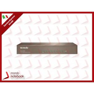 SWITCH TENDA TEG1008D 8P LAN GIGABIT DESKTOP 10/100/1000Mbps RJ45 CASE METALLICO