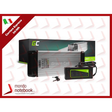 Green Cell Charger 42V 4A (3 pin) per EBIKE batteries 36V
