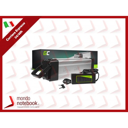 Green Cell Charger 54.6V 1.8A (3 pin) per EBIKE batteries 48V