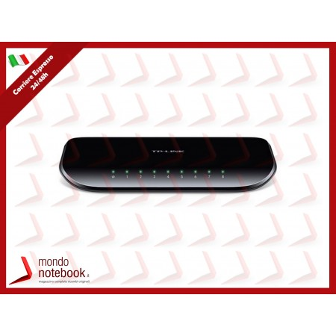 SWITCH TP-LINK TL-SG1008D 8P LAN GIGABIT DESKTOP 10/100/1000Mbps RJ45 CASE PLASTICA