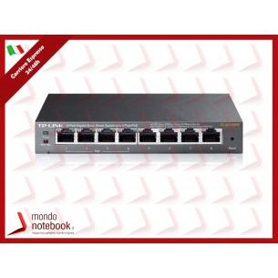 SWITCH TP-LINK TL-SG108PE 8P GIGABIT DESKTOP 10/100/1000Mbps RJ45 4P POE