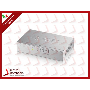 SWITCH ZYXEL GS-105B v3 5P LAN GIGABIT UNMANAGED DESKTOP Case Metallico