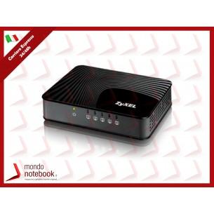 SWITCH ZYXEL ZYXGS-105S 5P LAN GIGABIT UNMANAGED DESKTOP Case Plastica Formato Mini