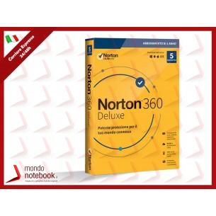SYMANTEC Norton 360 Deluxe 2020 - 5 Dispositivi 12 Mesi 50GB - IT Box 21397535