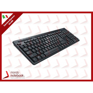 "TASTIERA ATLANTIS PREMIUM 110 ""P013-WL618-U"" MULTIMEDIALE, USB,5 tasti rapidi per..."