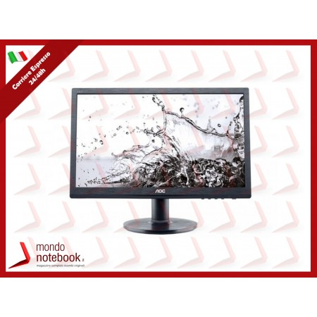 "MONITOR AOC LED 19.5"" Wide M2060SWDA2 0,27 1920x1080 7ms 250cd/mq 3.000:1(50.000.000:1)..."