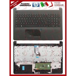 Tastiera con Top Case HP 250 G6, 255 G6, 15-BS (Nera) Layout Italiano