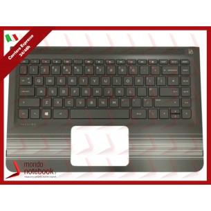 Tastiera con Top Case HP M3-u 13-u116nl Con Adesivi Layout Italiano
