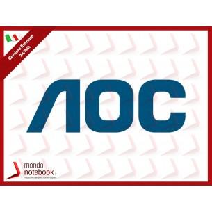 """MONITOR AOC LED 23.8"""" Wide 24G2U/BK IPS 1920x1080 1ms 250cd/mq 1.000:1(80.000.000:1)..."""