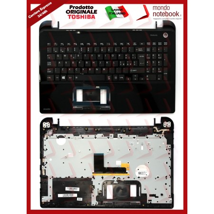 Tastiera con Top Case TOSHIBA Satellite L50 L50-B L50D-B (Nera)