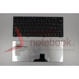 Tastiera Netbook ACER Aspire One 751H 752 722 Timeline 1810T 1410 (NERA) (CON ADESIVI...