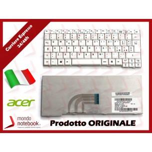 Tastiera Netbook ACER Aspire One ZG5 A110 A150 D150 D250 531H P531 (BIANCA)