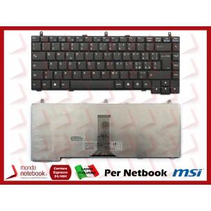 Tastiera Netbook MSI VR330 S420 M645 Italiana