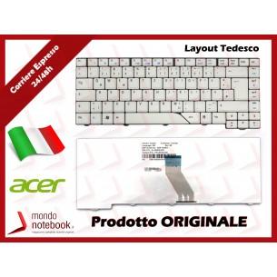 Tastiera Notebook ACER Aspire 4930 4520 4710 5920 4930 5720 6935 (BIANCO) (LAYOUT TEDESCO)