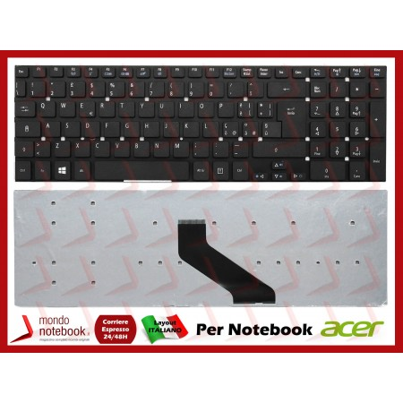 Tastiera Notebook ACER Aspire 5755G 5830TG V3-571 V3-771G V5-561 Layout Italiano