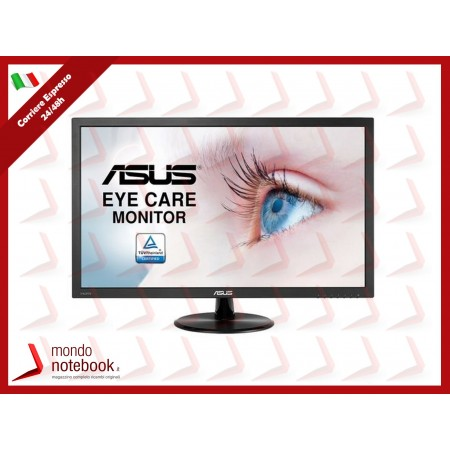 "MONITOR ASUS LED 23.6"" Wide VP247HAE VA 0,272 1920x1080 Full HD 5ms 250cd/m² 3000:1..."