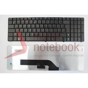 Tastiera Notebook ASUS F52 K50 K51 K60 K61 K62 K70 K72 X5DIN con ADESIVI LAYOUT ITA...
