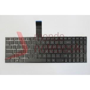 Tastiera Notebook ASUS F552 K55VD K55VM K55 K75 K75V (NERA) con ADESIVI LAYOUT ITA
