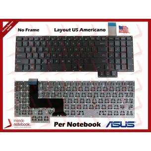 Tastiera Notebook ASUS ROG G750 G750J G750JH G750JS G750JW Layout US