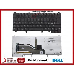 Tastiera Notebook DELL Latitude E6220 E6420 E6320 E5420 CON ADESIVI LAYOUT ITA...