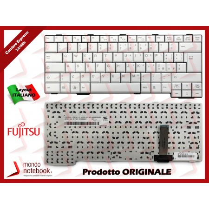 Tastiera Notebook Fujitsu Lifebook E751 E781 S761 S760 (BIANCA) Italiana