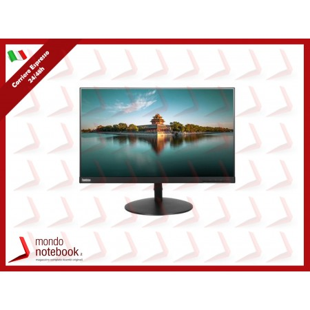 """MONITOR LENOVO T24i 61CEMAT2IT 23.8"""" Wide FHD IPS type Monitor"""