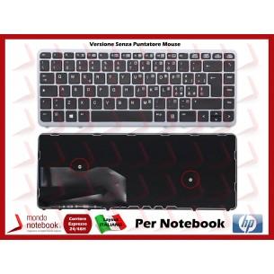 Tastiera Notebook HP Elitebook 840 850 G1 G2 Frame Silver