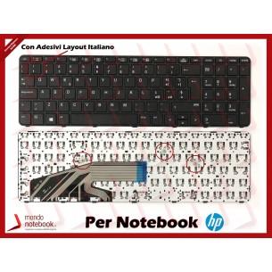 Tastiera Notebook HP ProBook 450 G3, 470 G3, 450 G4, 470 G4, 455 G3 con ADESIVI LAYOUT ITA