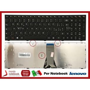 Tastiera Notebook Lenovo IdeaPad G50-30 G50-45 G50-70 B50-30 Z50-70 Flex 2 15 (Frame Nero)