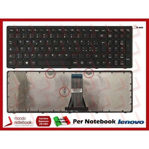 Tastiera Notebook Lenovo IdeaPad Z510 Flex 15 G500 S500 (FRAME NERO)