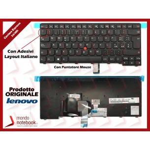 Tastiera Notebook Lenovo ThinkPad T440 T450 T460 T440p T440s con Trackpoint con ADESIVI...