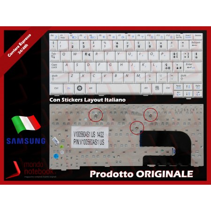 Tastiera Notebook SAMSUNG NC10 NP-N130 (BIANCA) con ADESIVI LAYOUT ITA