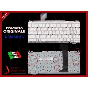 Tastiera Notebook SAMSUNG NC110 (BIANCA) SENZA FRAME