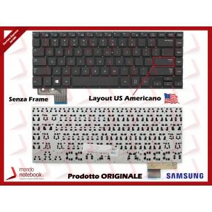 Tastiera Notebook SAMSUNG NP530U4B NP530U4C NP535U4C (SENZA FRAME) Layout Americano US