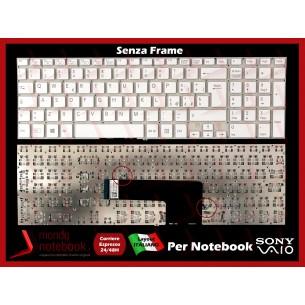Tastiera Notebook Sony SVF152 SVF153 SERIES (BIANCA) (SENZA FRAME)